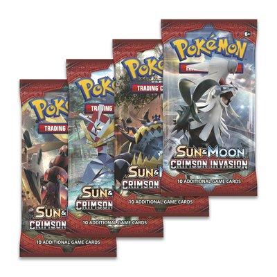 Pokémon Kaarten Crimson Invasion Pack (10 kaarten)