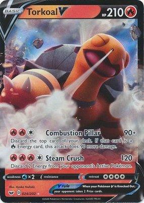 > Torkoal V // Pokémon kaart