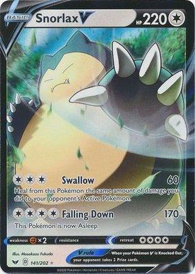> Snorlax V // Pokémon kaart