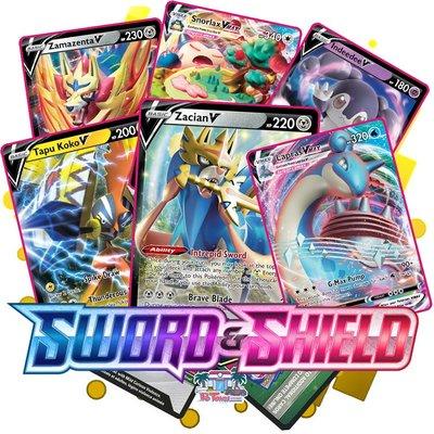 Pokémon Sword & Shield Base - Booster Pack (10 kaarten)