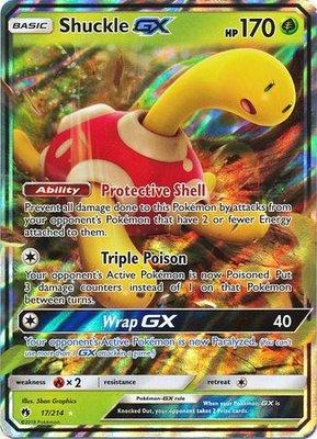 Shuckle GX // Pokémon kaart