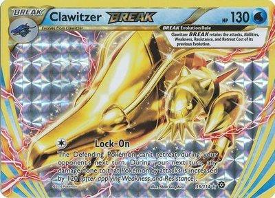 Clawitzer BREAK kaart