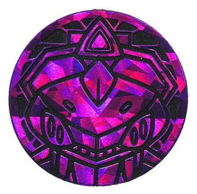 Pokemon Genesect Collectible Coin (Purple)