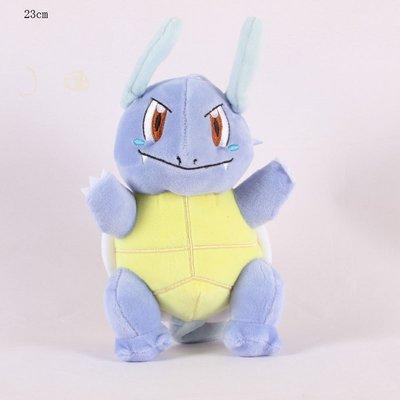 Wartortle - Pokémon Knuffel met zuignap 23cm (ophangbaar)