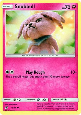 Snubbul - 15/18 - Holo - Detective Pikachu Series