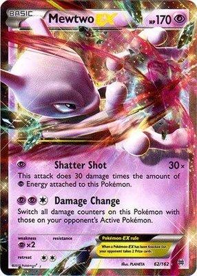 Mewtwo EX // Pokémon kaart