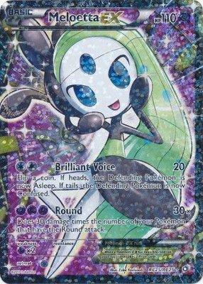 Meloetta EX // Pokémon kaart