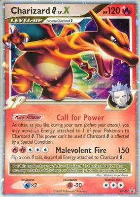 Charizard - G LV.X - Diamond&Pearl (2009) Promo