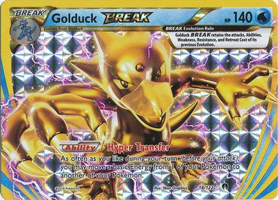Golduck BREAK kaart