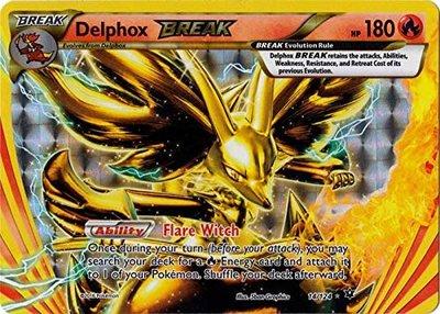 Delphox BREAK kaart