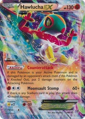 Hawlucha EX // Pokémon kaart