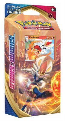 Sword & Shield Cinderace Theme Deck Pokemon kaarten
