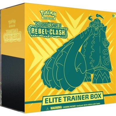 Sword & Shield REbEL cLASH- Elite Trainer Box