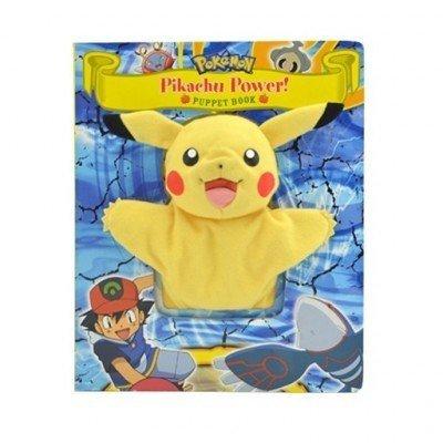Pokémon Plush Puppet Book – 26x21cm | Engels Boek met Handpop | Leren Lezen voor Kinderen | Voorleesboek