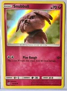 Snubbull - 15/18 - Holo - Detective Pikachu Series