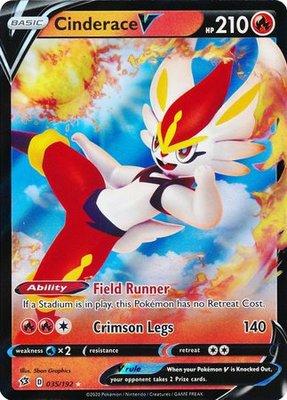 > Cinderace V // Pokémon kaart