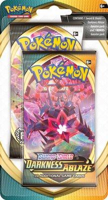 Pokémon Sword & Shield Darkness Ablaze Celebration Booster + 1 EXTRA - Pokémon Kaarten
