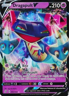 > Dragapult V // Pokémon kaart