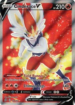 > Cinderace V Full Art // Pokémon kaart