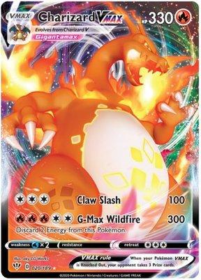 >> Charizard VMAX [darkness ablaze] // Pokémon kaart