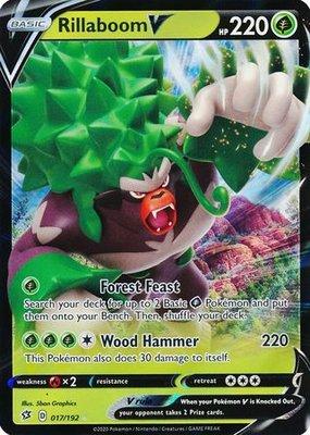 > Rillaboom V // Pokémon kaart