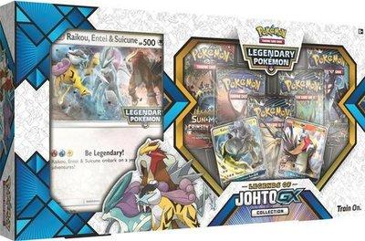 Pokémon Legends of Johto GX Box - Pokémon Kaarten