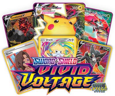 Nieuw: Pokémon Sword & Shield Vivid Voltage - Booster Pack (10 kaarten)