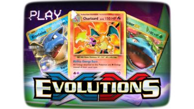 Pokémon Kaarten Evolutions Sleeved Booster Pack (10 kaarten)