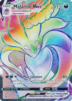 >> Malamar VMAX Hyper Rare (Rainbow) // Pokémon kaart
