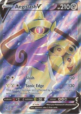 > Aegislash V Full Art // Pokémon kaart