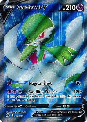 > Gardevoir V Full Art // Pokémon kaart
