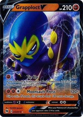 > Grapploct  V // Pokémon kaart