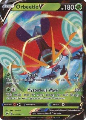 > Orbeetle  V // Pokémon kaart