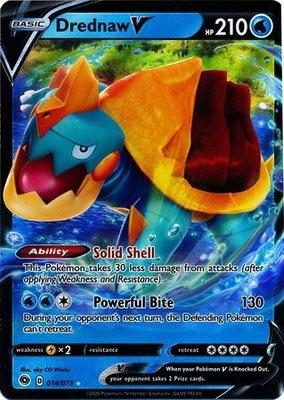> Drednaw  V // Pokémon kaart