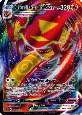 >> Centiskorch VMAX Full Art // Pokémon kaart