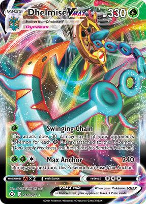 >> Dhelmise VMAX Full Art // Pokémon kaart
