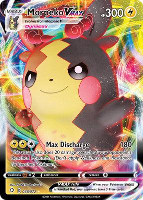 >> Morpeko VMAX Full Art // Pokémon kaart