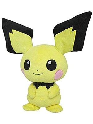 Pichu - Pokémon Knuffel met zuignap 22CM (ophangbaar)
