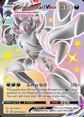 >> Grimmsnarl VMAX Shiny Rare // Pokémon kaart