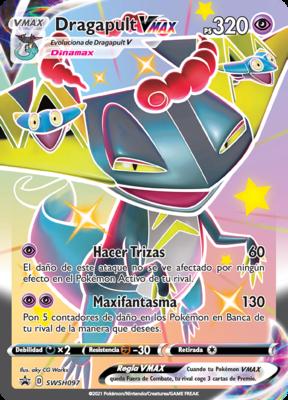 >> Dragapult VMAX Shiny Rare // Pokémon kaart
