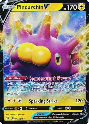 > Pincurchin V // Pokémon kaart