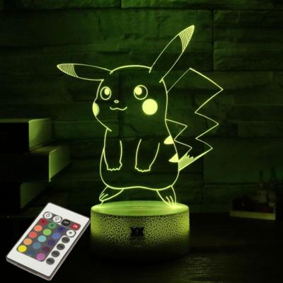 Pokémon Sfeerlamp in Pikachu, Mewtwo of Charizard uitvoering