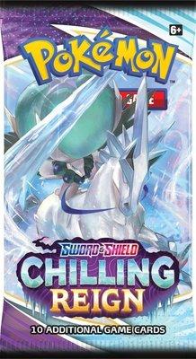 Nieuw: Pokémon Kaarten Chilling Reign Booster Pack (10 kaarten)