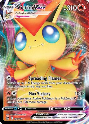 >> Victini VMAX Full Art // Pokémon kaart