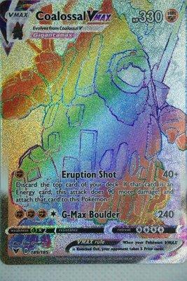 >> Coalossal VMAX Hyper Rare (Rainbow) // Pokémon kaart