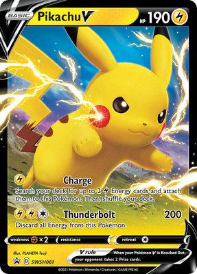 > Pikachu V // Pokémon kaart