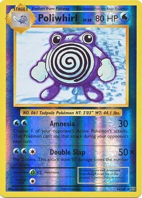 Poliwhirl - 24/108 - Uncommon Reverse Holo
