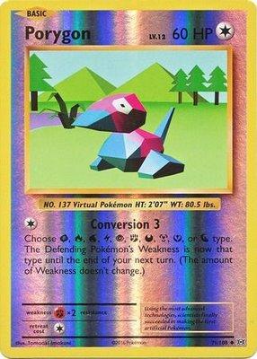 Porygon - 71/108 - Uncommon Reverse Holo