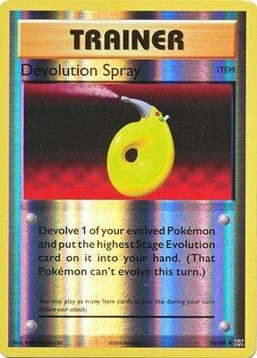 Devolution Spray - 76/108 - Uncommon Reverse Holo