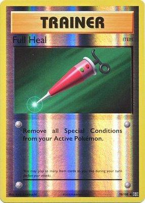 Full Heal - 78/108 - Uncommon Reverse Holo